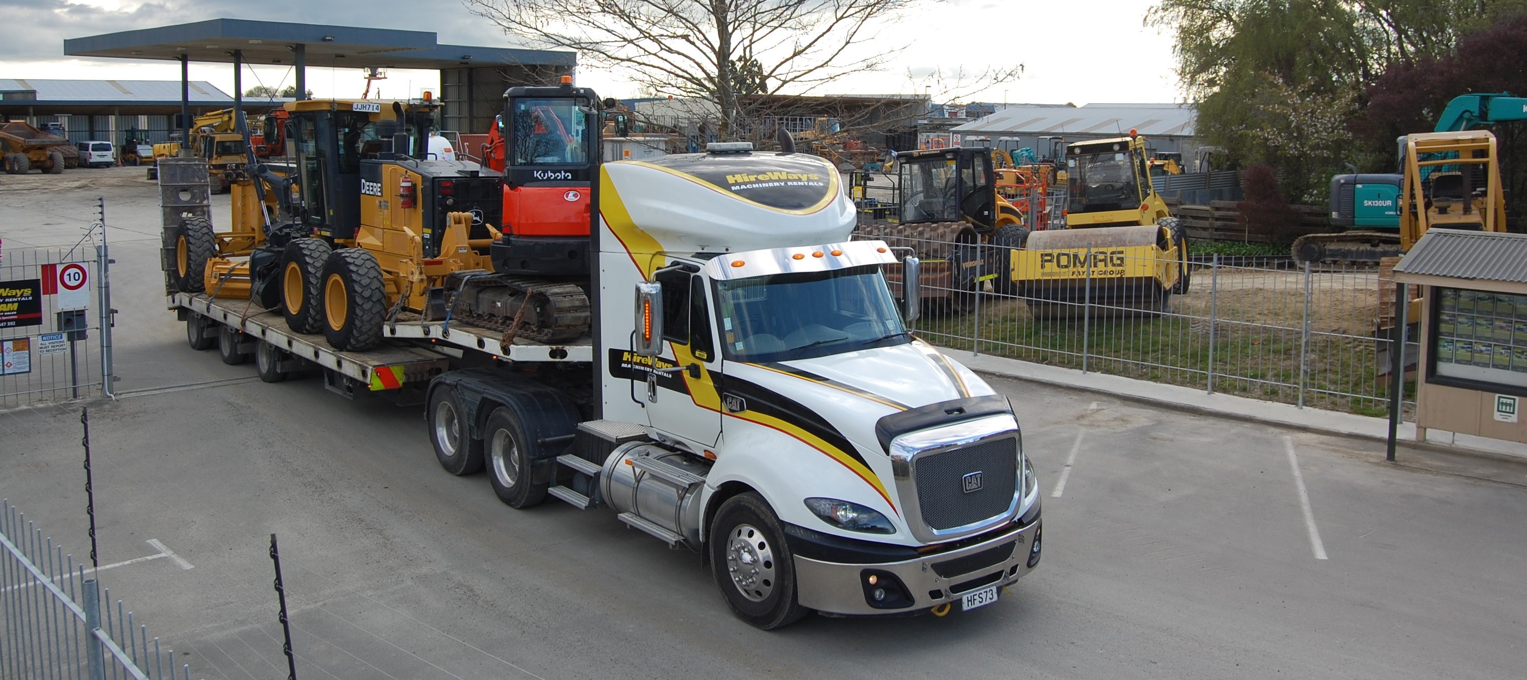 Equipment hire Palmerston North