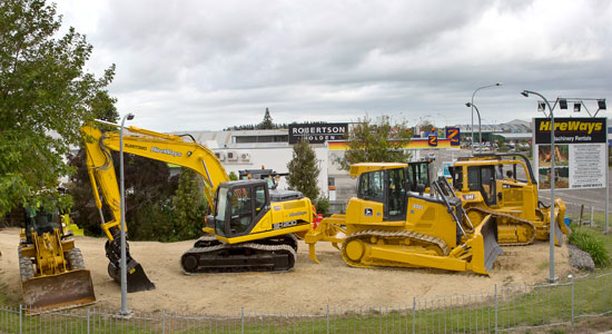 Hireways machinery rental