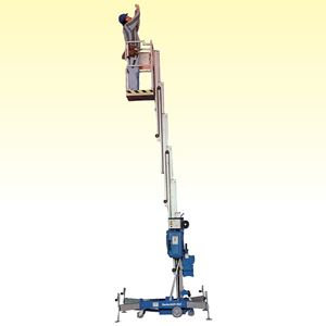 Picture of 11m Portable Mast Lift