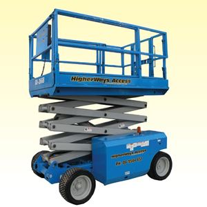 Picture of 9.75m A/T Scissor Lift