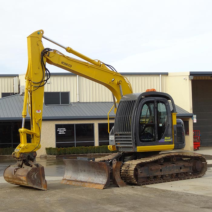 Hire rent 16 ton excavator dozer blade wellington for Demolition wood for sale