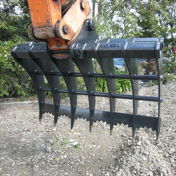 Bulldozers For Sale >> Hire & Rent Root Rake | Wellington, Palmerston North, NZ