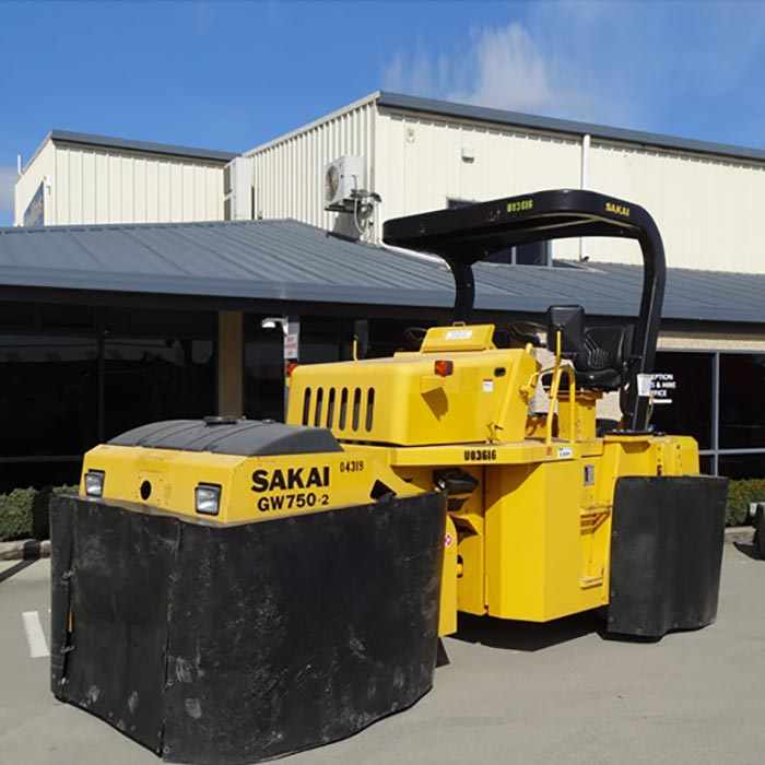 Picture of 8 Ton Pneumatic Multi-tyre Roller