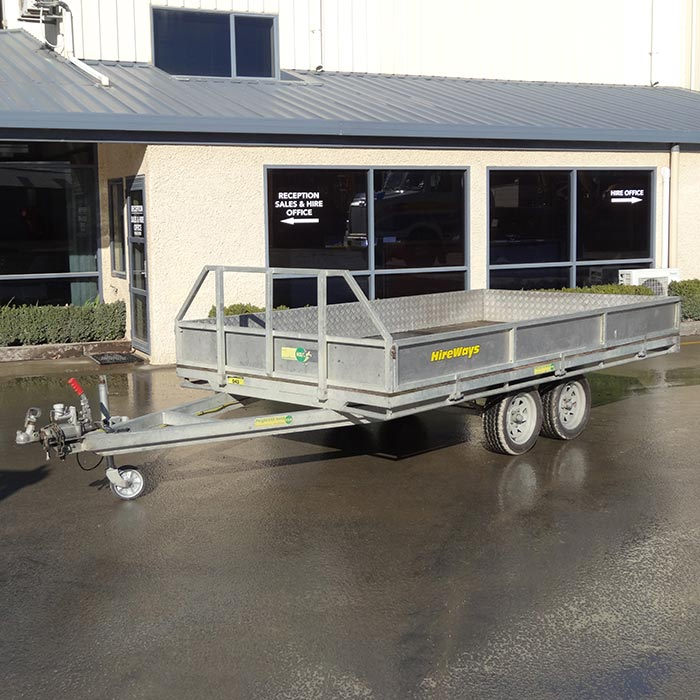 Picture of Flat Deck Trailer