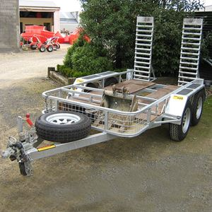 Picture of 1-3 Ton Excavator Trailer