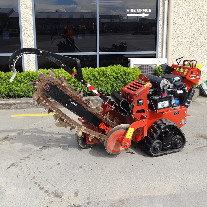 Picture of 500kg Tracked Trencher