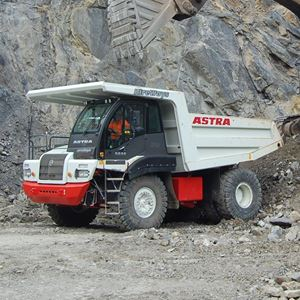 Picture of 30 ton Rigid Dump Truck (Rock Truck)