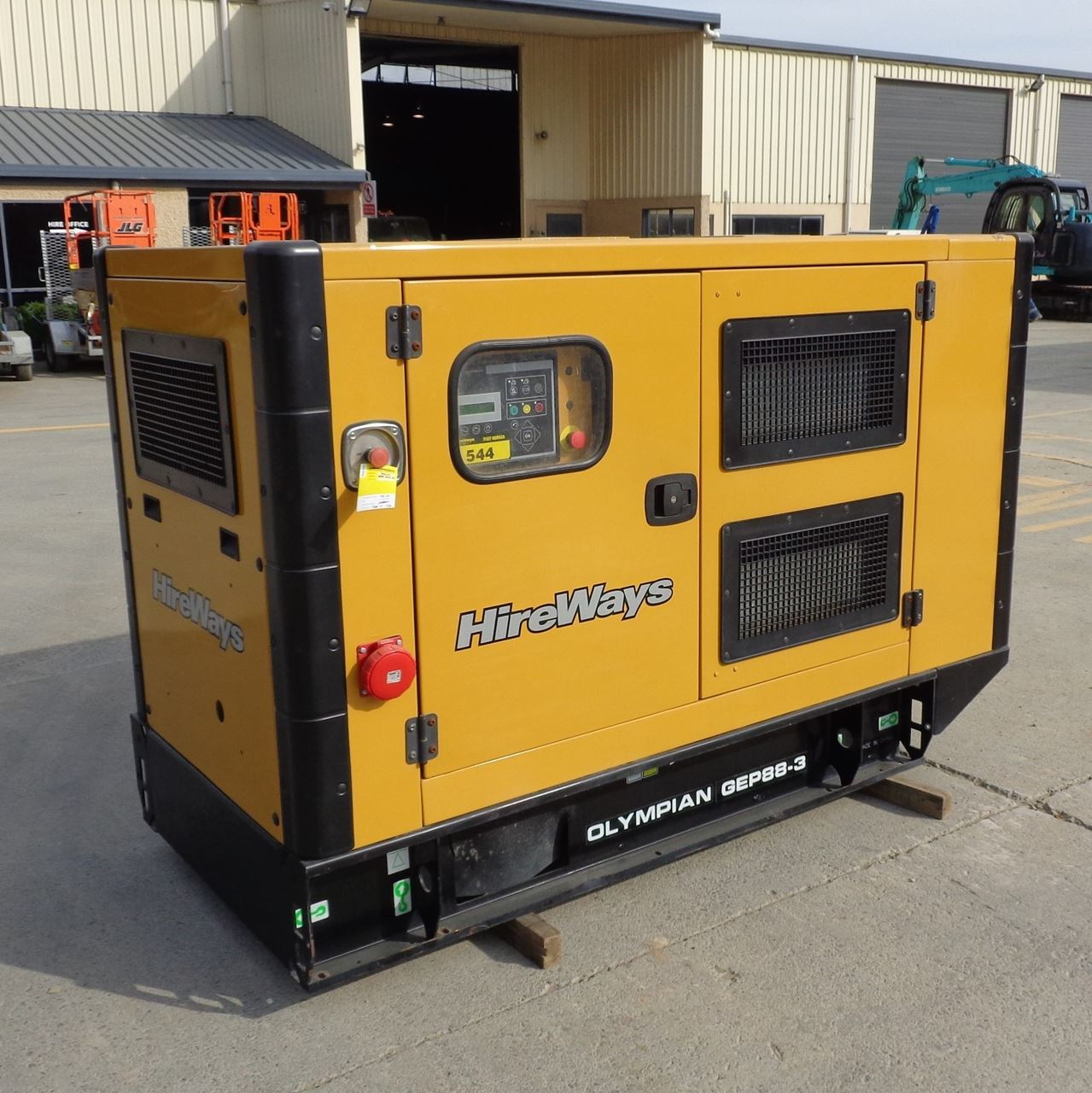 Hire & Rent 80 KVA Generator | Wellington, Palmerston North, NZ