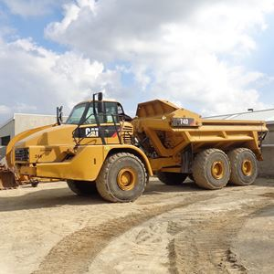 Picture of 40 Ton Dump Truck - Ejector