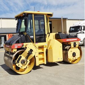 Picture of 8 Ton Double Drum Roller