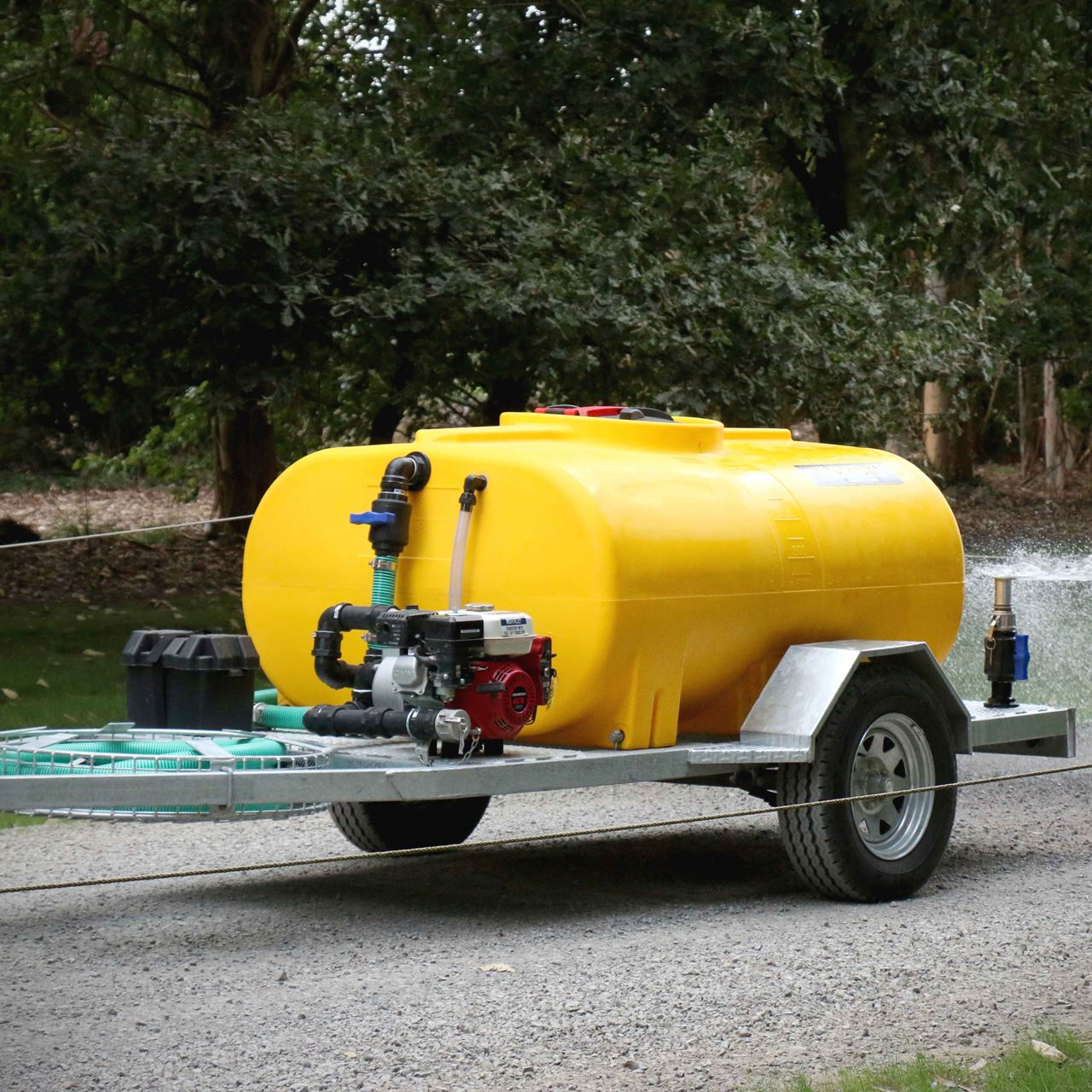 Picture of 1200 Litre Dust Suppresion Trailer