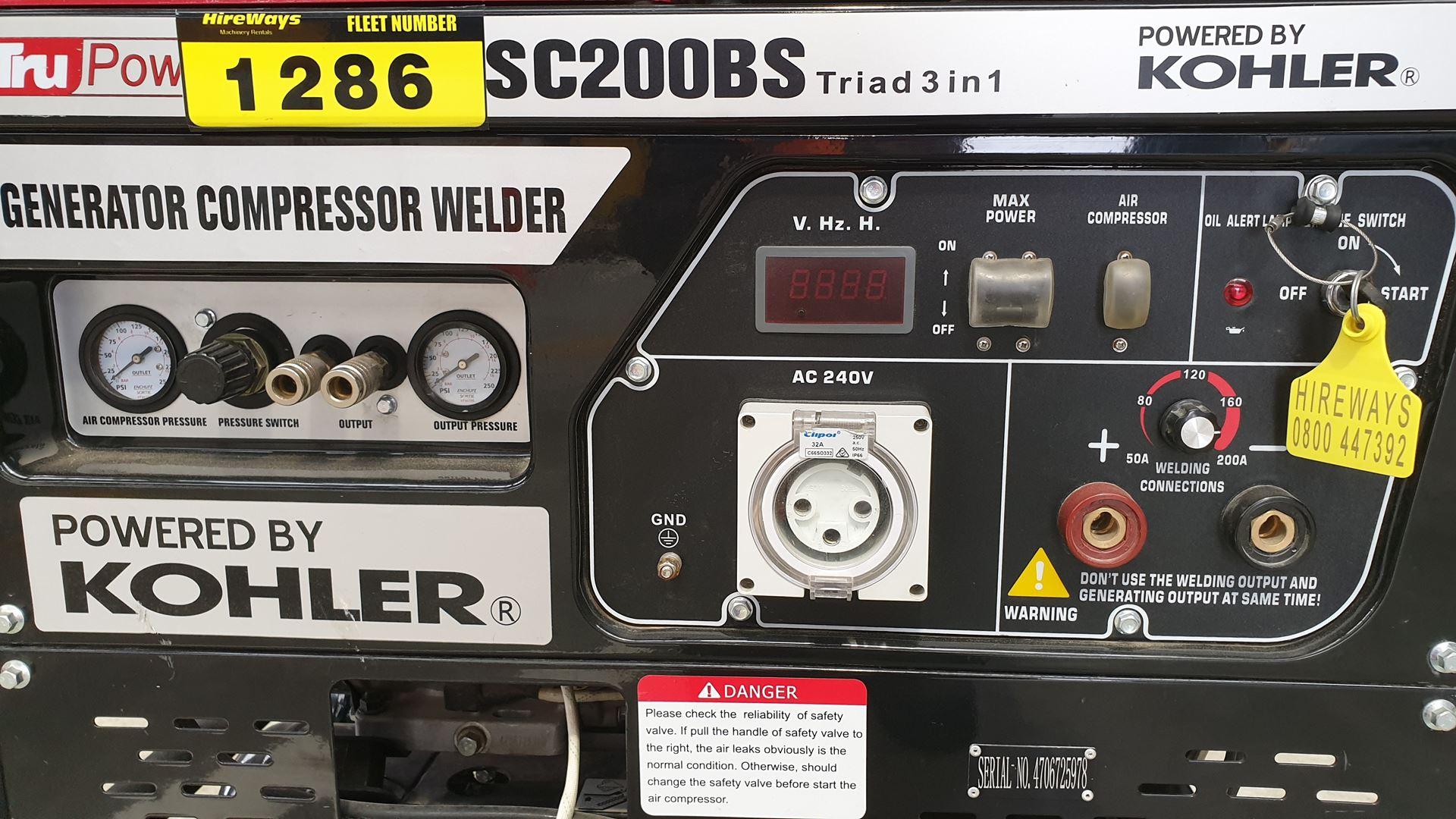 Picture of 5 kVA Generator / Welder / Compressor