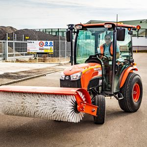 Picture of Tractor Mounted Sweeper