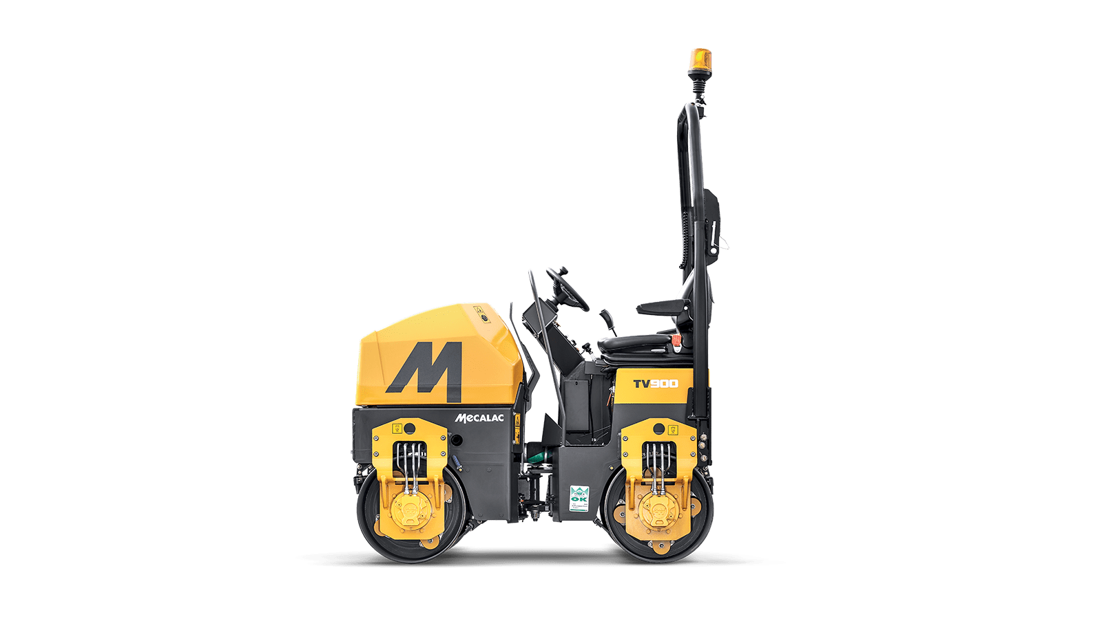Picture of 1.5 Ton TV900 Mecalac Roller