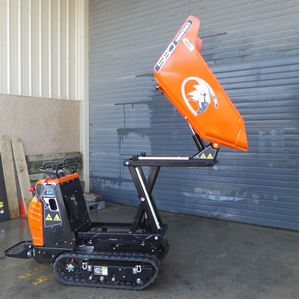 Picture of 800kg Cormidi Tracked Hi-Tip Dumper