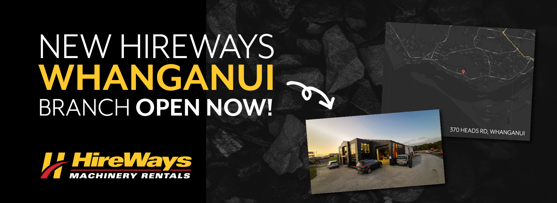 HireWays Whanganui is open now