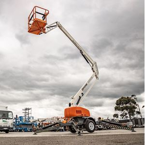 Picture of 13m Petrol Cherry Picker
