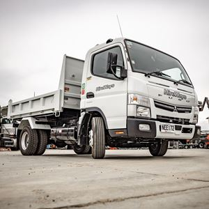 Picture of 5 Ton Tipper Truck