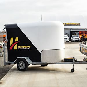 Picture of Single Axle Furniture Trailer