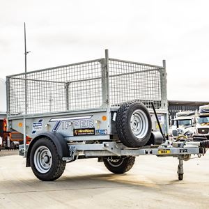Picture of Single Axle Tipping Cage